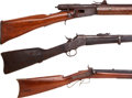 Long Guns:Single Shot, Lot of Two Military Rifles and One Percussion Rifle.... (Total: 3 )