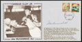 Boxing Collectibles:Autographs, Muhammad Ali Signed First Day Cover....