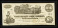Confederate Notes:1862 Issues, CT39/294 Counterfeit $100 1862.. ...