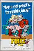 "Movie Posters:Animated, Fritz the Cat (Cinemation Industries, 1972). One Sheet (27"" X 41"")and Special Promotional Poster (18"" X 27""). Animated.. ... (Total:2 Items)"