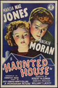"Movie Posters:Comedy, Haunted House (Monogram, 1940). One Sheet (27"" X 41""). Comedy.. ..."