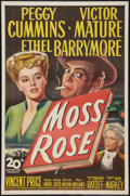 "Movie Posters:Mystery, Moss Rose (20th Century Fox, 1947). One Sheet (27"" X 41""). Mystery.. ..."