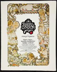 "Barry Lyndon (Warner Brothers, 1975). Presskit (11"" X 14""). Drama"
