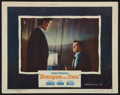"""Movie Posters:Hitchcock, Strangers on a Train (Warner Brothers, 1951). Lobby Card (11"""" X14""""). Hitchcock.. ..."""