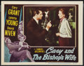 """Movie Posters:Comedy, The Bishop's Wife (RKO, 1948). Lobby Card (11"""" X 14""""). Comedy.. ..."""