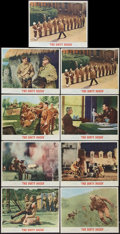"Movie Posters:War, The Dirty Dozen (MGM, 1967). Lobby Card Set of 8 and One Extra Card# 8(11"" X 14""). War.. ... (Total: 9 Items)"