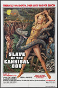 """Movie Posters:Adventure, Slave of the Cannibal God (New Line, 1979). One Sheet (27"""" X 41"""").Adventure.. ..."""