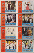 """Movie Posters:Comedy, We're No Angels (Paramount, 1955). Lobby Card Set of 8 (11"""" X 14"""").Comedy.. ... (Total: 8 Items)"""