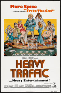 "Heavy Traffic (American International, 1973). One Sheet (27"" X 41""). Animated"