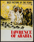 "Movie Posters:Academy Award Winners, Lawrence of Arabia (Columbia, 1963). Uncut Pressbook (Multiple Pages, 14"" X 17.5"") Best Picture Style. Academy Award Winners..."