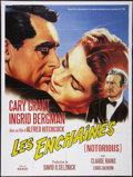 """Movie Posters:Hitchcock, Notorious (Buena Vista International/CNC, R-1990s). French Grande(47"""" X 63""""). Hitchcock.. ..."""