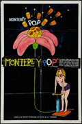 "Movie Posters:Rock and Roll, Monterey Pop (Leacock-Pennebaker, 1968). One Sheet (27"" X 41"").Rock and Roll.. ..."