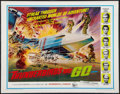 "Movie Posters:Science Fiction, Thunderbirds Are Go (United Artists, 1968). Half Sheet (22"" X 28""). Science Fiction.. ..."