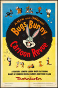 "Movie Posters:Animated, Bugs Bunny Cartoon Revue (Warner Brothers, 1953). One Sheet (27"" X 41""). Animated.. ..."