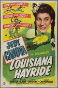 "Movie Posters:Comedy, Louisiana Hayride (Columbia, 1944). One Sheet (27"" X 41""). Comedy....."