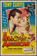 "Movie Posters:Sports, The All American (Universal International, 1953). One Sheet (27"" X 41""). Sports.. ..."