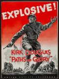 """Movie Posters:War, Paths of Glory (United Artists, 1958). Uncut Pressbook (MultiplePages, 13.5"""" X 18""""). War.. ..."""