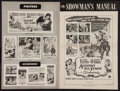 """Movie Posters:Swashbuckler, Against All Flags & Other Lot (Universal International, 1952). Uncut Pressbooks (2) (Multiple Pages, 11"""" X 17"""" & 12"""" X 18"""").... (Total: 2 Items)"""