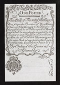 Colonial Notes:New Hampshire, New Hampshire Cohen Reprint April 1, 1737 Redated August 7, 174020s Very Choice New+.. ...