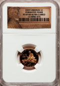 Proof Lincoln Cents, 2009-S 1C Bronze Formative PR69 Red Ultra Cameo NGC. NGC Census: (11796/1671). PCGS Population (4247/272). Numismedia Wsl....