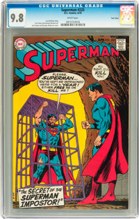 Superman #225 Twin Cities pedigree (DC, 1970) CGC NM/MT 9.8 White pages