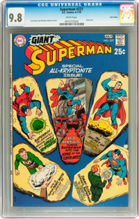 Superman #227 Twin Cities pedigree (DC, 1970) CGC NM/MT 9.8 White pages