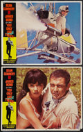 "Movie Posters:James Bond, You Only Live Twice and Other Lot (United Artists, 1967). LobbyCards (2) (11"" X 14"") and Spanish One Sheet (27.5"" X 40""). J...(Total: 3 Items)"