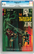 Silver Age (1956-1969):Horror, Twilight Zone #19 Twin Cities pedigree (Gold Key, 1967) CGC NM+ 9.6Off-white to white pages....