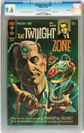 Silver Age (1956-1969):Horror, Twilight Zone #24 Twin Cities pedigree (Gold Key, 1968) CGC NM+ 9.6Off-white to white pages....