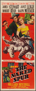 """Movie Posters:Western, The Naked Spur (MGM, 1953). Insert (14"""" X 36""""). Western.. ..."""