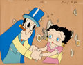 Animation Art:Limited Edition Cel, Betty Boop Production Cel Set-Up Animation Art (undated)....