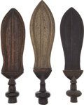 Antiques:Antiquities, Lot of Three Assorted Ethnographic Weapons From Central Africa.... (Total: 3 )