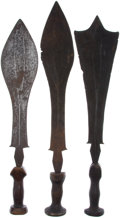 Antiques:Antiquities, Lot of Three Assorted Ethnographic Weapons From Central Africa.... (Total: 3 Items)