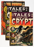 Golden Age (1938-1955):Horror, Tales From the Crypt Group (EC, 1954-55).... (Total: 3 Comic Books)
