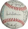 Autographs:Baseballs, 1967 Boston Red Sox Team Signed Baseball....