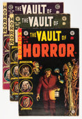 Golden Age (1938-1955):Horror, Vault of Horror #38-40 Group (EC, 1954-55).... (Total: 3 ComicBooks)