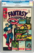 Silver Age (1956-1969):Superhero, Fantasy Masterpieces #5 Twin Cities pedigree (Marvel, 1966) CGC NM 9.4 White pages....