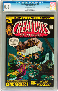 Creatures on the Loose #14 Twin Cities pedigree (Marvel, 1971) CGC NM+ 9.6 Off-white to white pages