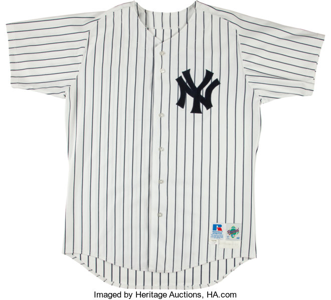 low priced 8621a 5c6d5 1998 Bernie Williams Game Worn New York Yankees Jersey ...