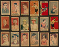 "Baseball Cards:Lots, 1920's Baseball, Boxing and More ""W"" Strip Card Collection (50)With Many Superstars - Cobb and W. Johnson. ..."