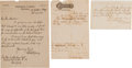 Autographs:Others, 1882 New York Giants Application to Join National League....