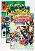 Modern Age (1980-Present):Superhero, The Amazing Spider-Man Group (Marvel, 1972-88) Condition: AverageNM-.... (Total: 7 Comic Books)