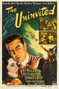 "Movie Posters:Horror, The Uninvited (Paramount, 1944). One Sheet (27"" X 41"").. ..."