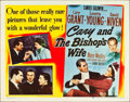 "Movie Posters:Comedy, The Bishop's Wife (RKO, 1948). Half Sheet (22"" X 28"") Style B.. ..."