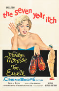 """Movie Posters:Comedy, The Seven Year Itch (20th Century Fox, 1955). One Sheet (27"""" X41"""").. ..."""