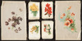 "Non-Sport Cards:Sets, 1910-Era Silks ""Flowers"" Collection (36 Different). ..."
