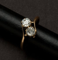 Art Deco Diamond, Gold Ring