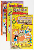 Bronze Age (1970-1979):Cartoon Character, Richie Rich Inventions File Copy Group (Harvey, 1977-82) Condition: Average NM-.... (Total: 78 Comic Books)