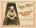 "Movie Posters:Western, No Man's Gold (Fox, 1926). Title Lobby Card (11"" X 14"").. ..."