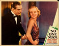 "Movie Posters:Drama, No One Man (Paramount, 1932). Lobby Card (11"" X 14"").. ..."